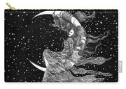 Woman In The Moon Carry-all Pouch