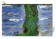Woman In The Wind By The Sea 1907 Carry-all Pouch