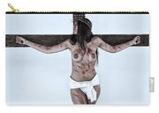 Woman Jesus On Cross I Carry-all Pouch