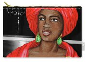 Woman Of The Candelabra Carry-all Pouch