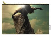 Woman On A Meadow Carry-all Pouch