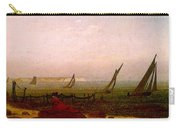 Woman On The Beach Of Rugen  Carry-all Pouch