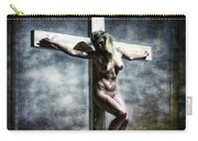 Woman On The Cross I Carry-all Pouch