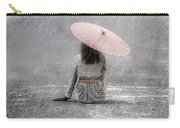 Woman On The Street Carry-all Pouch by Joana Kruse