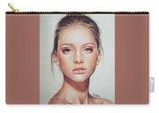 Woman Portrait Carry-all Pouch