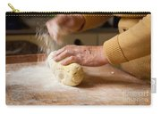 Woman Preparing Dough For Kopytka Carry-all Pouch