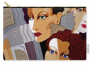 Woman Times Three Carry-all Pouch by Tara Hutton