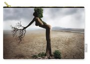 Woman Tree Art Carry-all Pouch