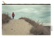 Woman Walking In The Dunes Of Cape Cod Carry-all Pouch