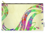 Woman Watercolor Series Ix Carry-all Pouch