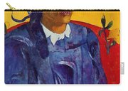 Woman With A Flower 1891 Carry-all Pouch