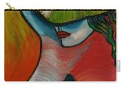 Woman With Hat Carry-all Pouch