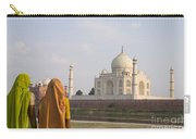Women At Taj Mahal Carry-all Pouch