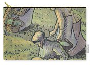 Women Gathering Mushrooms Carry-all Pouch