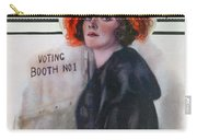 Women Voting, 1920 Carry-all Pouch