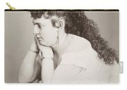 Womens Hairstyle Carry-all Pouch