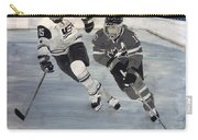 Women's Hockey Carry-all Pouch by Richard Le Page