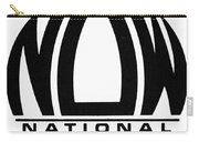 Womens Rights: Now Logo Carry-all Pouch