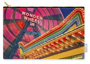 Wonder Wheel At Coney Island Carry-all Pouch