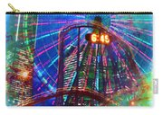 Wonder Wheel At The Coney Island Amusement Park Carry-all Pouch