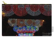 Wonderful And Spectacular Christmas Lighting Decoration In Madrid, Spain Carry-all Pouch
