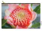 Wonderful Bright Pink Waratah Bud Carry-all Pouch