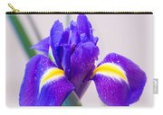 Wonderful Iris With Dew Carry-all Pouch