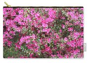 Wonderful Pink Azaleas Carry-all Pouch