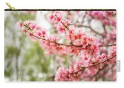 Wonderful Pink Cherry Blossoms At Floriade Carry-all Pouch