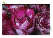 Wonderful Pink Red Rose Carry-all Pouch