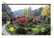 Wonderful Sunken Garden In The Butchart Gardens,victoria,canada 1. Carry-all Pouch