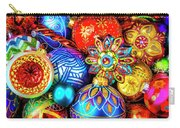 Wonderfully Beautiful Christmas Ornaments Carry-all Pouch