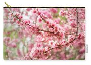 Wonderfully Delicate Pink Cherry Blossoms At Canberra's Floriade Carry-all Pouch