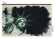 Wonders Of The Worlds - Lady Liberty Of New York 2 Carry-all Pouch