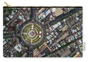 Wongwian Yai Roundabout Surrounded By Buildings, Bangkok Carry-all Pouch by Pradeep Raja PRINTS
