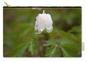 Wood Anemone Heavy From The Rain Carry-all Pouch