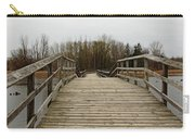 Wood Boardwalk At Valens Carry-all Pouch
