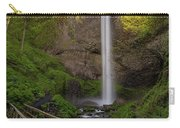 Wood Bridge At Latourell Falls Carry-all Pouch