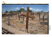 Wood Crosses In Taos Cemetery Carry-all Pouch