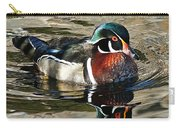 Wood Duck 1 Carry-all Pouch