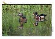 Wood Duck Couple Carry-all Pouch