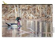 Wood Duck Drake 2018 Square Carry-all Pouch