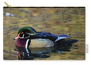Wood Duck Drake Carry-all Pouch