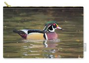 Wood Duck In A Pond Carry-all Pouch