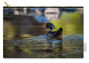 Wood Duck On Mill Creek Carry-all Pouch