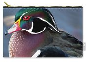Wood Duck On The Delaware - 27fullsizerender Carry-all Pouch