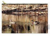 Wood Ducks Enjoying The Pond Carry-all Pouch