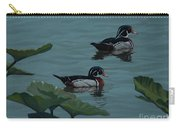 Wood Ducks On Lake Morton Carry-all Pouch