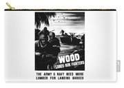 Wood Lands Our Fighters Carry-all Pouch