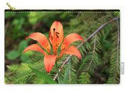 Wood Lily Also Called Prairie Lily Or Western Red Lily Carry-all Pouch